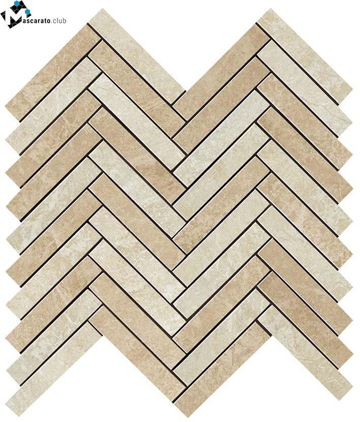 Atlas Concorde Force Light Herringbone Mosaic 29,8x29,3
